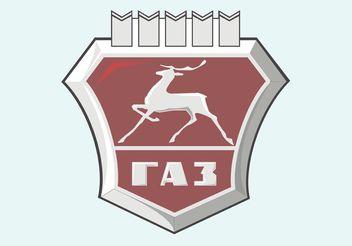 GAZ Logo - vector #161459 gratis