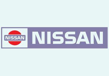 Nissan Logo - Kostenloses vector #161579