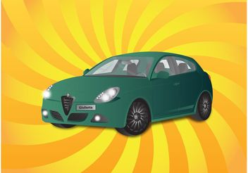 Alfa Romeo Giuletta - vector gratuit #161639
