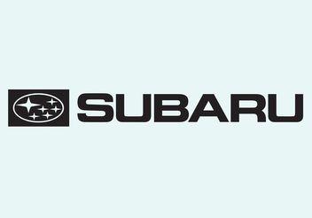 Subaru Logo - vector #161649 gratis