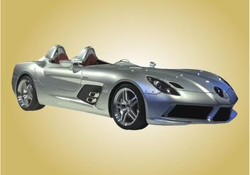 Mercedes SLR McLaren - vector gratuit #161679