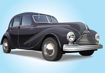 Vintage Car - Free vector #161719