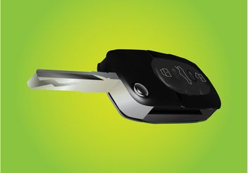 Realistic Car Key - vector gratuit #161729
