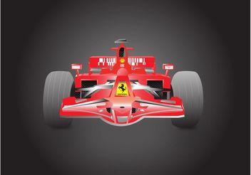 Formula 1 Ferrari - vector #162099 gratis
