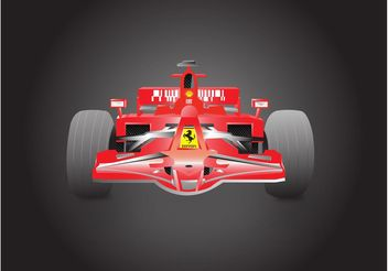 Formula 1 Ferrari - Free vector #162099