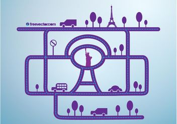 City Network - Free vector #162149