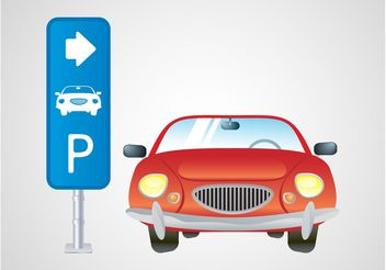 Parking Vector - vector gratuit(e) #162159