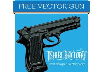 Free Vector Gun - Free vector #162419