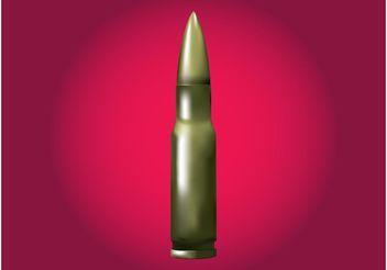 Shiny Bullet - vector gratuit #162439