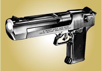 Desert Eagle Pistol - Kostenloses vector #162449
