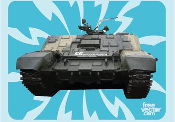 Russian Tank - vector gratuit #162459