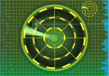 Radar Background - vector gratuit #162529