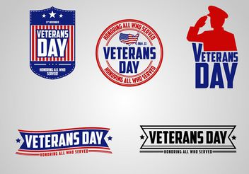 Veterans Day - Free vector #162549