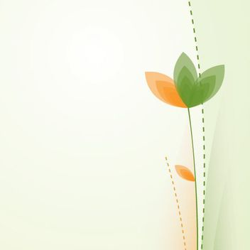 Abstract Simple Playful Flower Background - vector #162939 gratis