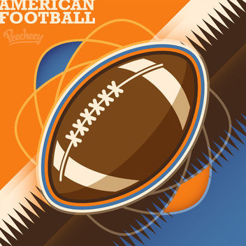 Rugby Sports Abstract Background - vector gratuit #163339