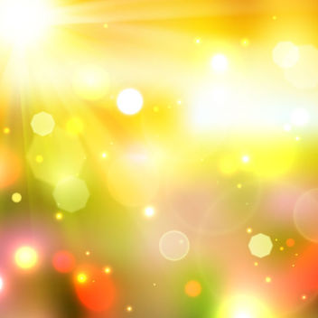 Shiny Realistic Sunshine Background - vector gratuit #163349