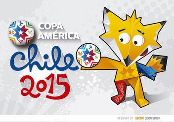 Copa America Chile Zincha Wallpaper - Free vector #163429