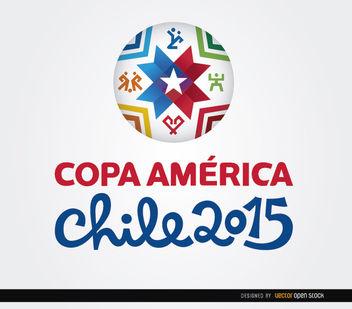 Copa America logo 2015 ball - Free vector #163459