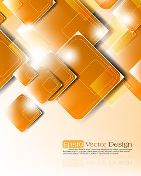Creative Shiny Piled Up Cornered Squares Background - Free vector #165299