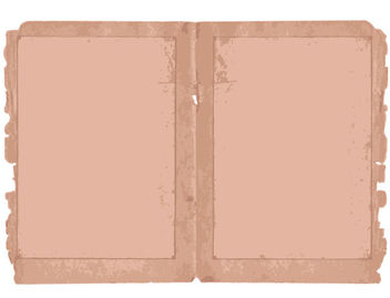 Two Folds Torn Old Paper - Free vector #165479