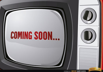 Old Television advertisement - Free vector #165669