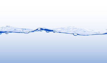 Realistic Water Edge Splashed Background - vector gratuit #165739