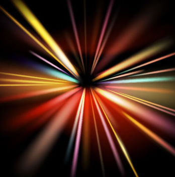 Explosive Glow Colorful Background - Free vector #165869