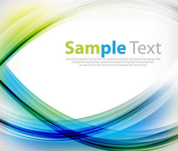 Fluorescent Colorful Curves Frame Background - Free vector #165919