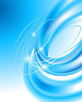 Creative Blue Vortex Spin Blended Background - Free vector #166079