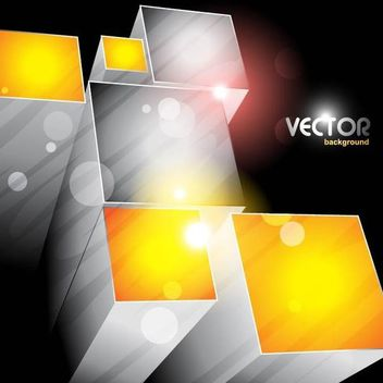 3D Blocks Business Background - vector gratuit(e) #166829