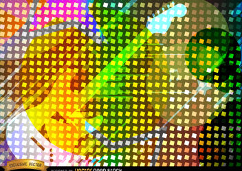 Colorful guitar background - Free vector #167109
