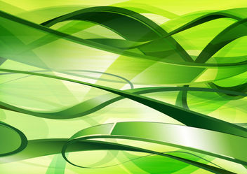 Abstract green tangled background - Free vector #167399