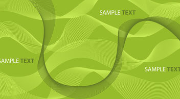 Abstract Green Background with Spiral Lines - Kostenloses vector #167519