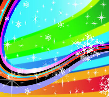 Colorful Stripy Holiday Background - Free vector #167769