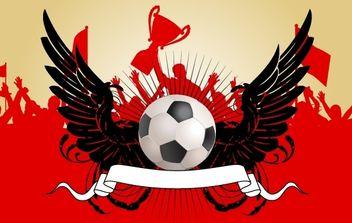 Soccer Champion Celebration - Free vector #168109