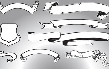 Vector Line Art Shape - Free vector #168369