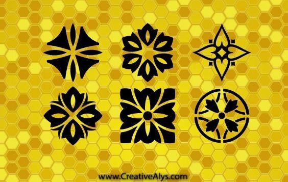 Creative Patterns And Logo Design Graphics - vector gratuit(e) #168429