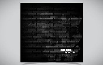Black Wall - vector gratuit(e) #168489
