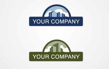 Real Estate Logo - vector gratuit #168599