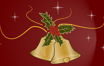 Christmas Bells 4 - Free vector #168639
