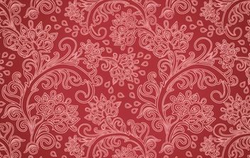 Retro Floral Pattern - Free vector #168719
