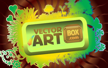 Vector Art Frame - Free vector #168769