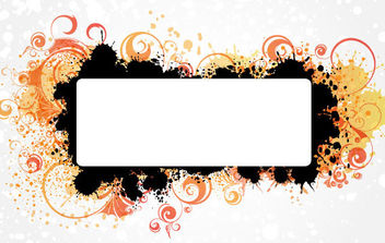 Decorated Banner - vector gratuit #168789