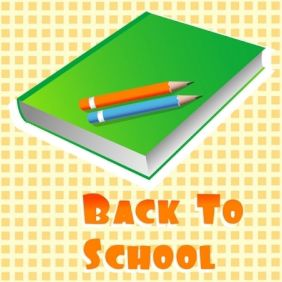 Back To School - vector #168879 gratis