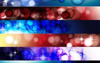 Abstract Banner Vector - vector gratuit #169019