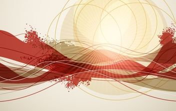 Abstract Background Vector Art - Free vector #169029