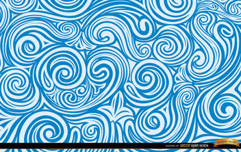 Artistic liquid Swirls - Free vector #169589