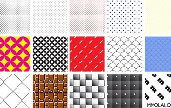 Swatch Patterns - Free vector #170199