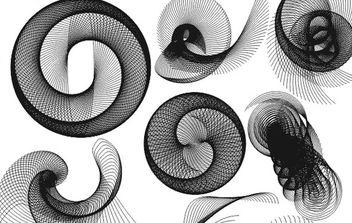 spiral vectors - Free vector #170219