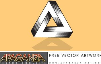 Impossible Triangle - vector #171389 gratis